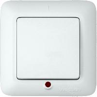 Выключатель Прима С/У 1кл Белый VS1U-115-B Schneider Electric