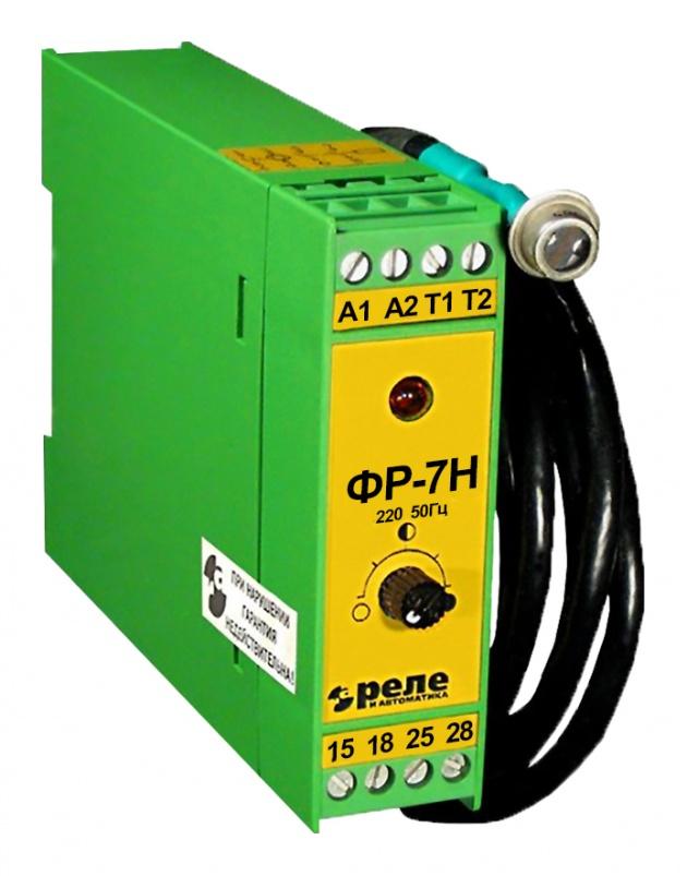 Фотореле ФР-7Н 5А отключаемый датчик 1,5м на DIN-рейку A8222-77946510 Реле и автоматика