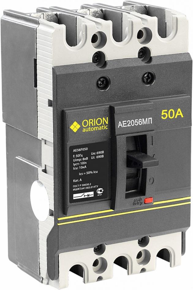 Автоматический выключатель АЕ 2056 МП 50А 660В 10кА AE56F050 Texenergo