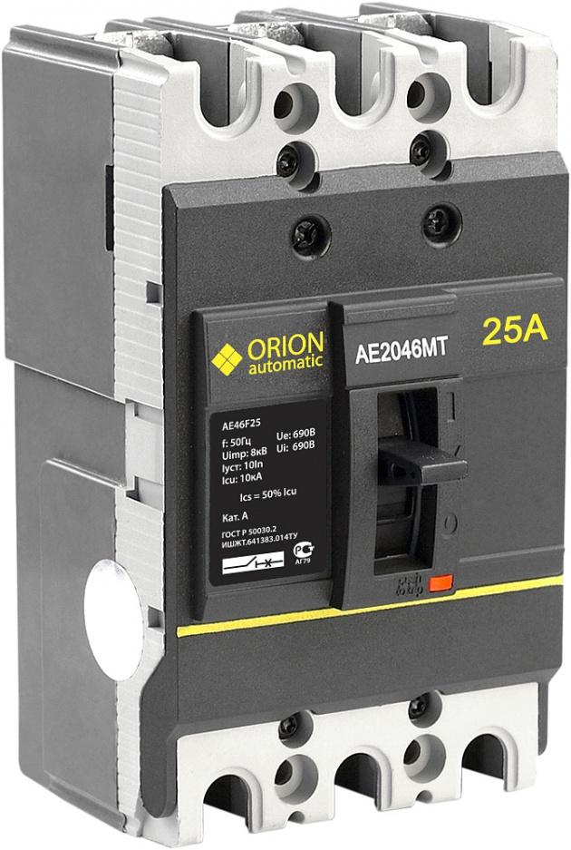 Автоматический выключатель АЕ 2046МТ 25А 660В 7.5кА AE46F25 Texenergo