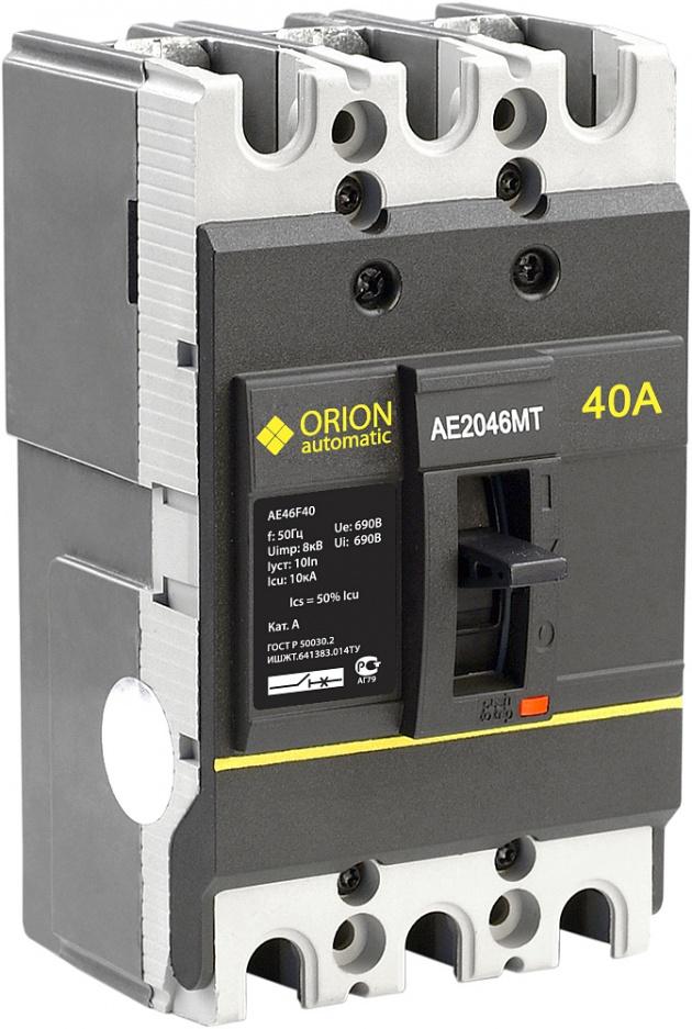 Автоматический выключатель АЕ 2046МТ 40А 660В 7.5кА AE46F40 Texenergo