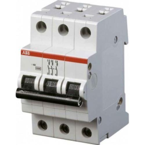 ABB SH203L Автоматический выключатель 3P 25А (C) 2CDS243001R0254 ABB