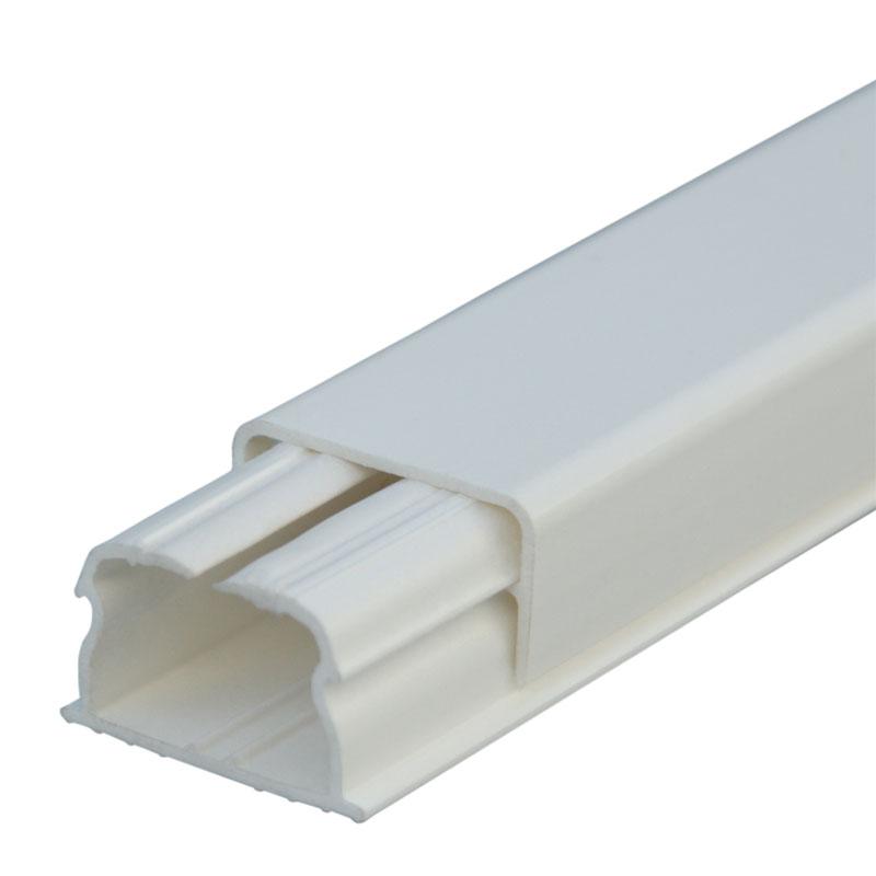 Мини-плинтус DLPlus - 20x12,5 мм - 1 отделение - длина 2,1 м - белый 030008 Legrand