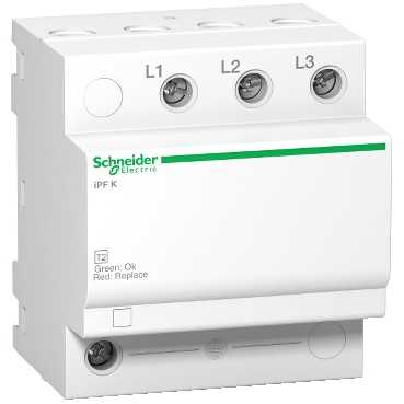 ОПН iPF 40 40kA 340В 3П A9L15582 Schneider Electric