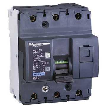 Автоматический выключатель NG125N 3П 16A C 18633 Schneider Electric