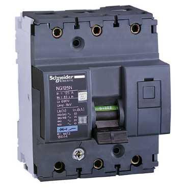 Автоматический выключатель NG125N 3П 80A C 18640 Schneider Electric