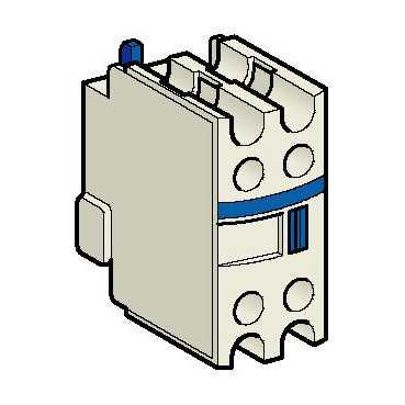 Доп контакт 2но+0нз Спереди к пускателю Tesys D LADN20 Schneider Electric