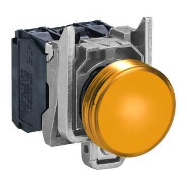 XB4 Лампа LED Жёлтая 24В AC/DC XB4BVB5 Schneider Electric