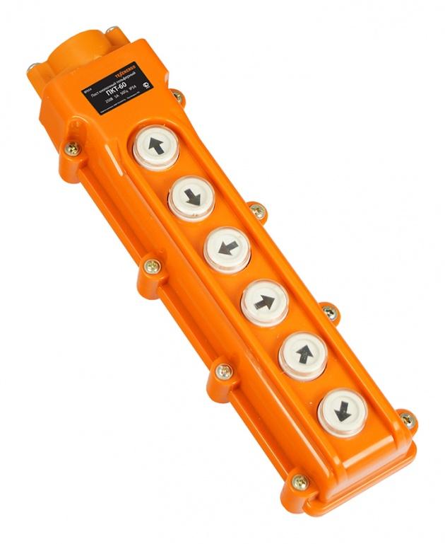 Пост кнопочный ПКТ-60 IP54 BP6054 Texenergo