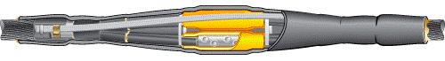 Муфта соединительная термоусаживаемая 4СТп - 1- 70/120 CMS20-014-120 Texenergo