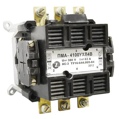 Пускатель электромагнитный ПМА 4100 380В 2з+2р  ЗЭТА