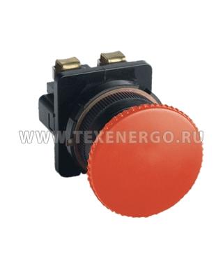 Выключатель кнопочный КЕ 141/2 красный 1з+1р KE141/2R Без производителя