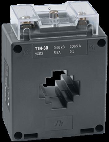 Трансформатор тока ТТИ-30 250/5А 5ВА класс 0,5 ITT20-2-05-0250 IEK