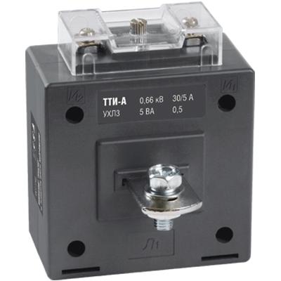 Трансформатор тока ТТИ-А 100/5А 5ВА класс 0,5 IEK ITT10-2-05-0100 IEK