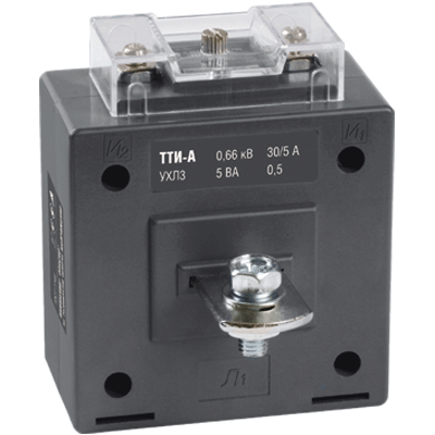 Трансформатор тока ТТИ-А 150/5А 5ВА класс 0,5 IEK ITT10-2-05-0150 IEK