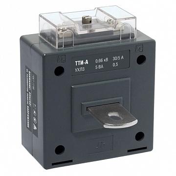 Трансформатор тока ТТИ-А 400/5А 5ВА класс 0,5 ИЭК ITT10-2-05-0400 IEK
