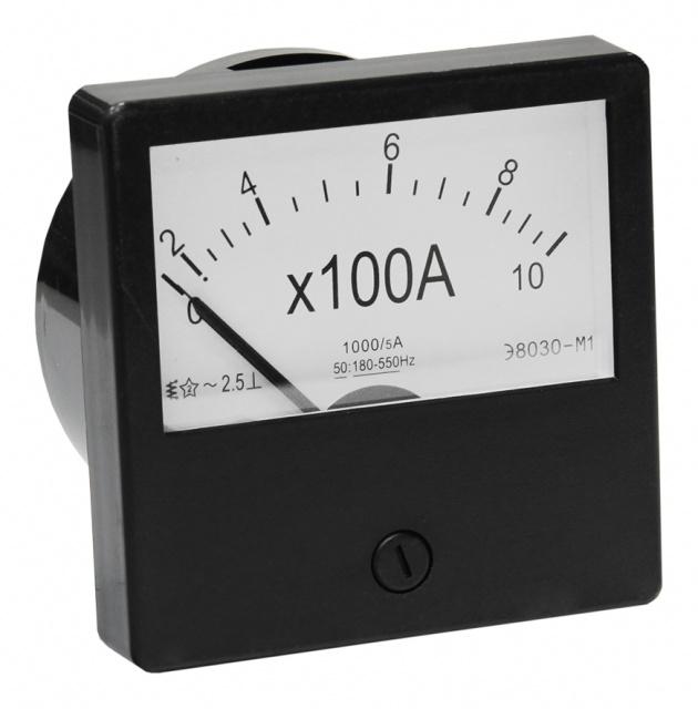 Амперметр Э-8030 М1 100/5 А PA830100 Texenergo