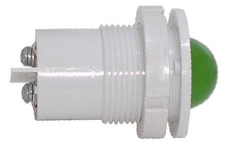 Светосигнальная арматура СКЛ-11 Б-Л-2-220, зеленая, повышенная яркость 220В  Каскад Электро
