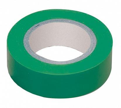 Изолента 0,13х15 мм зеленая 20 метров ИЭК UIZ-13-10-K06 IEK