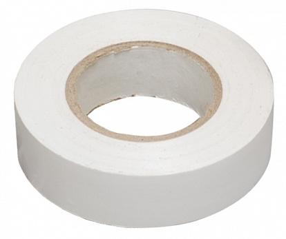 Изолента 0,18х19 мм белая 20 метров ИЭК UIZ-20-10-K01 IEK