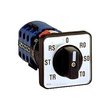 ПЕРЕКЛЮЧАТЕЛЬ ВОЛЬТМЕТРОВ 7ПОЗИЦИОННЫЙ 16018 Schneider Electric