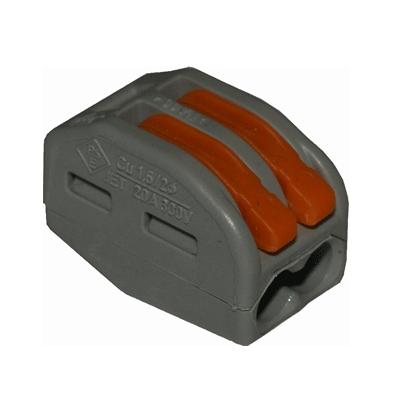 Клеммы Wago 222-412 (2Х2,5мм2 с рычажком) (упаковка 50шт.) 222-412 Wago