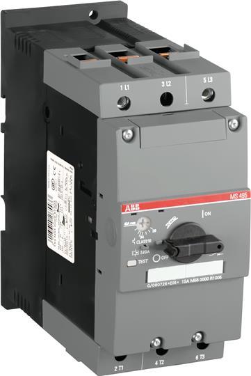 Автоматич.выключ. MS495-100 50 кА с регулируемой тепловой защитой 1SAM550000R1010 ABB