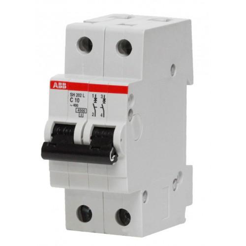 Автоматический выключатель SH202L C10 2п 2CDS242001R0104 ABB