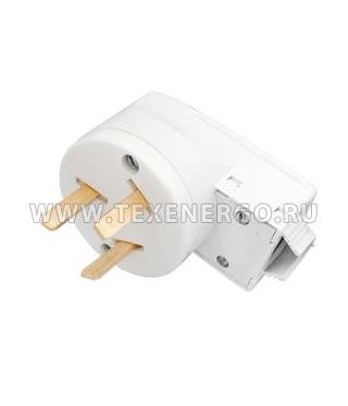 Вилка для электроплиты с заземляющим контактом В32-001 00000115386 Texenergo