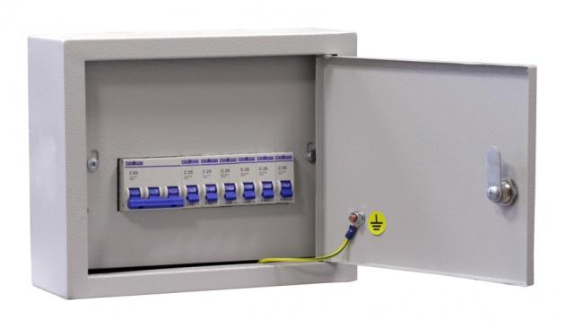 Щит освещения ОЩВ-6 (32А+6x25A) IP31 OHV6-250031 Texenergo