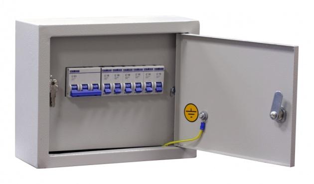 Щит освещения ОЩВ-6 (32А+6x16A) IP31 OHV6-160031 Texenergo