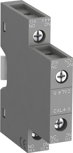 Контакт CAL4-11 1НО, 1НЗ боковой 1SBN010120R1011 ABB