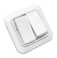 Выключатель белый с/у 2 клавишы С56-У02 Белоцерковское УПП УТОС