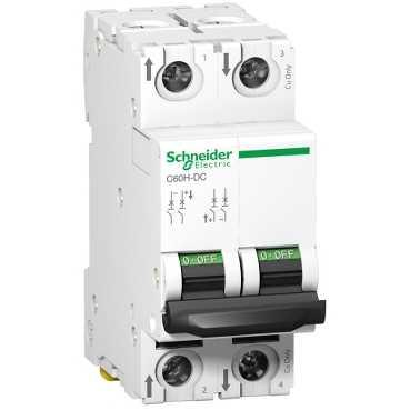 Автоматический выключатель C60H-DC 2П 16А C 500В DC A9N61531 Schneider Electric