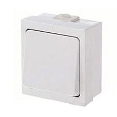 Выключатель белый о/у 1 клавиша IP44 А14-100 Белоцерковское УПП УТОС