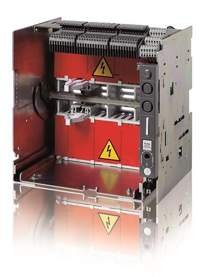 Фиксированная часть выкатного исполнения T7-T7M-X1 W FP 3p EF-EF 1SDA062045R1 ABB