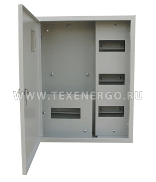 Щит учета распределительный ЩУРн-3/25 500х400х155 IP31 Е12-15-504015-31 Texenergo