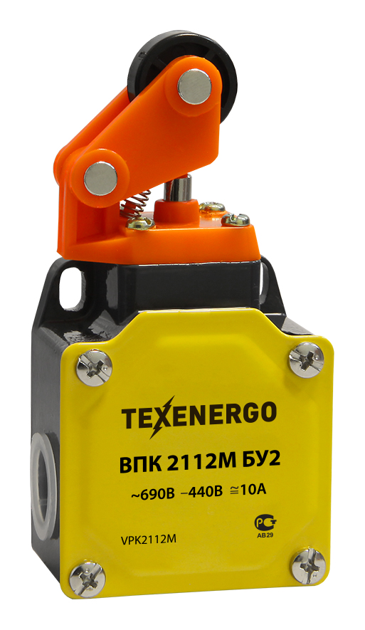 Выключатель путевой ВПК 2112М БУ2 VPK2112M Texenergo
