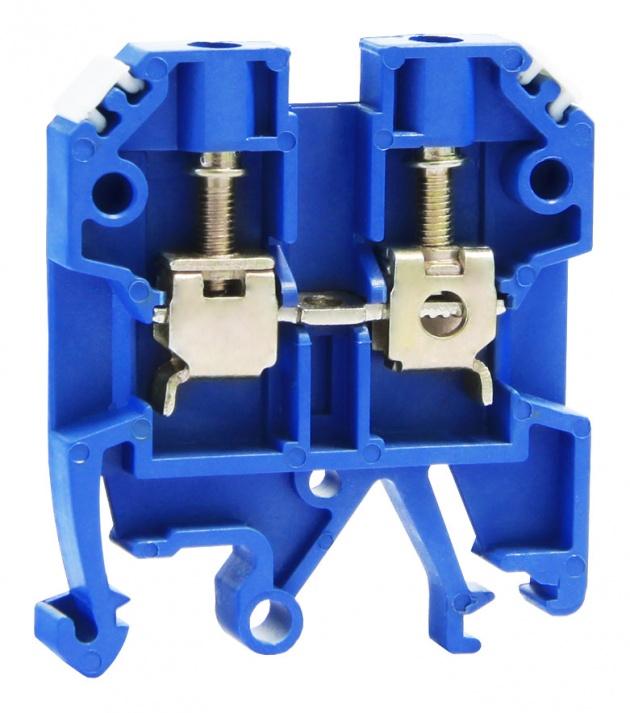 Клемма ЗНИ-4мм синий ZN1-004-K07 Texenergo