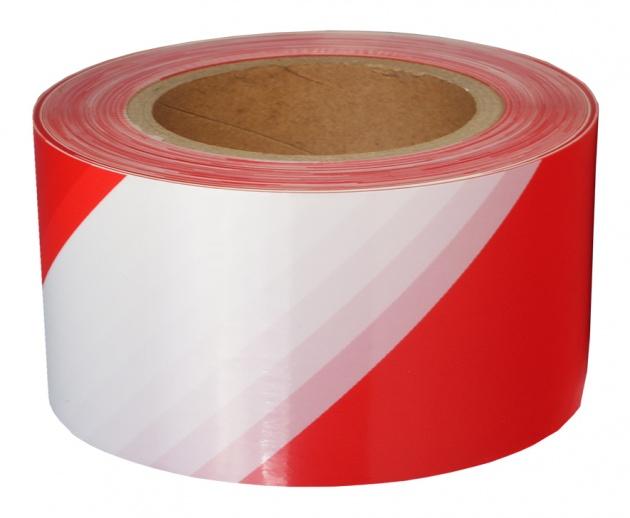 Лента оградительная ЛО-250 красно-белая 75мм 250 м PEO250 Texenergo