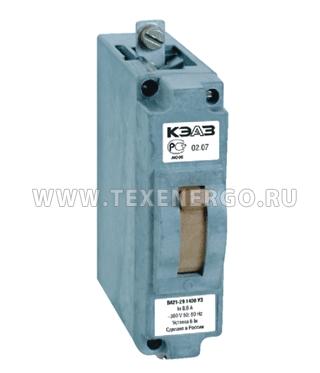 Автоматический выключатель ВА 2129 140010 12IН 380 25А У3 ОТК КЭАЗ 100304 КЭАЗ