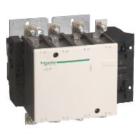 * КОНТАКТОР F 4Р (4 НО), AC1 400 А, 230V 50/60 ГЦ, LC1F3304P7 Schneider Electric