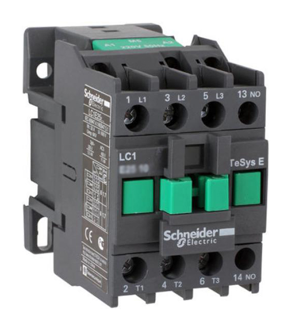 КОНТАКТОР E 1НО 25А 400В AC3 48В 50ГЦ LC1E2510E5 Schneider Electric