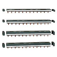 2 Гребенчатые шинки 2п 48 мод 9мм 14892 Schneider Electric