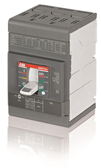 Выключатель автоматический для защиты электродвигателей XT2S 160 MA 80 Im=480...1120 3p F F 1SDA067768R1 ABB