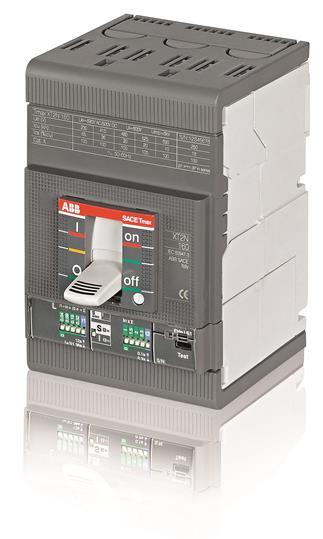 Выключатель автоматический для защиты электродвигателей XT2H 160 Ekip M-I In=100A 3p F F 1SDA067889R1 ABB