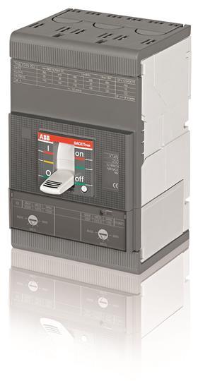 Выключатель автоматический для защиты электродвигателей XT4V 160 MA 160 Im=800...1600 3p F F 1SDA068469R1 ABB