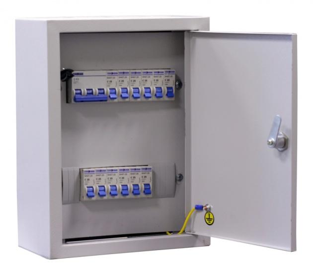 Щит освещения ОЩВ-12 (32А+12x25A) IP31 OHV12-32-250031 Texenergo