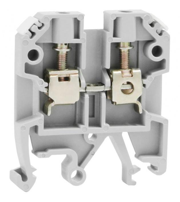 Клемма ЗНИ-4мм серый ZN1-004-K02 Texenergo