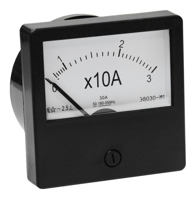 Амперметр Э-8030 М1 30А PA830-30 Texenergo